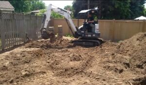 Niagara Area Residential Excavating, Landscaping and Grading
