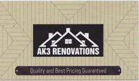 AK3 RENOVATIONS LTD