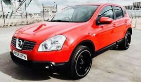 NISSAN QASHQAI 2.0 ACENTA 4WD 5d 148 BHP 2 MONTHS PAYMENT BREAK!! (red) 2008