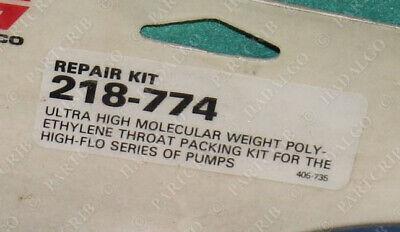 Graco 218-774 Bulldog King Pump Throat Packing Repair Kit New