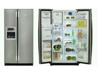 Whirlpool 20RID3L Side-By-Side Fridge Freezer With Ice N Water Dispenser (20RID3L)