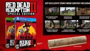Preordered  red dead redemption 2 special edition