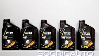 5 Litri Olio Motore Petronas Selenia Pure Energy Wide Range 5W30 MOPAR Nuovo