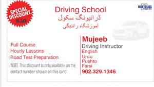Driving School/ Driver instructor special discount NO TAX