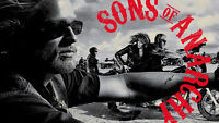 """Brand New """"Son of Anarchy Full Series"""" """"FREE DELIVERY"""""""