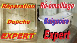 LES SPÉCIALISTES DES RÉPARATIONS DE DOUCHES-BAINS