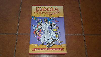 BIBBIA ILLUSTRATA DEI BAMBINI I EDIZIONE SAN PAOLO 2000 COFANETTO DUE VOLUMI