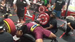 $3000 worth of prizes at Amazing Fitness Bench Press Competition