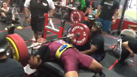 Bench Press Challenge! Prizes over $3000 to be won!