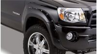 New Bushwacker Pocket Style Fender Flares Toyota Tacoma 2005 &up