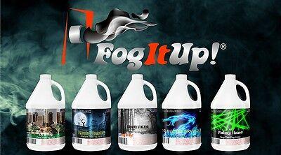 Free Fog juice!! Fog It Up! 8 oz. Sample of fog juice, fog fluid, Fog It Up!