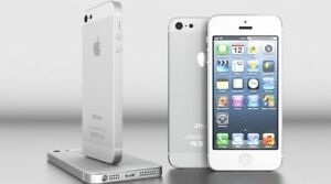 iPhone 5 White Silver 16G