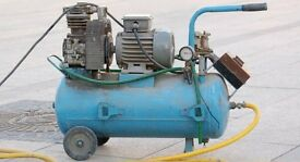wanted large air compressor 100 litre or bigger