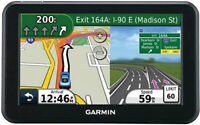"Garmin Nuvi 50LM 5"" GPS new maps voice speech directions"