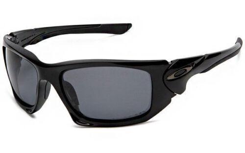 NEW Oakley - POLARIZED SCALPEL - Polished Black / Grey Polarized, OO9095-05