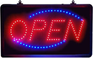 LED open sign only $45