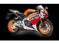 WANTED!! 1000cc sports bike (Fireblade, GSXR, ZX10)