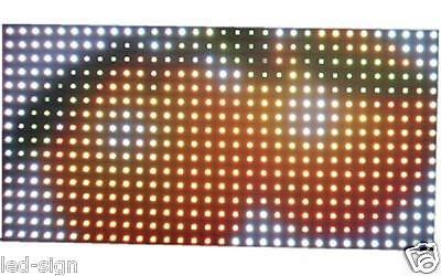 P10 Ph10 Rgb Full Color Led Display Module Board 1632 Dot Matrix