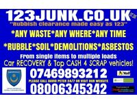 Rubbish & House clearance - skip hire alternative