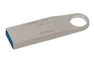 Kingston 128GB DataTraveler SE9 G2 USB3.0 Flash Pen Drive Me