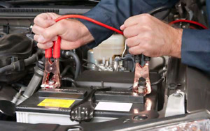 car battery boost service or jump