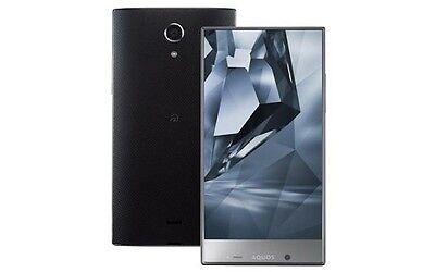 Sharp Aquos Crystal Y 402Sh 5 5 Inch Android 4K Unlocked Smartphone Japan Black