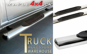 "4"" Oval  Nerf side Bars Fit 2009-2016 Dodge Ram 1500/2500/3500 North Shore Greater Vancouver Area image 2"