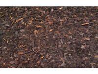 Woodchip bark mulch
