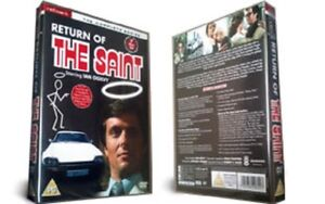 RETURN OF THE SAINT the complete series box set. Ian Ogilvy. New sealed DVD.