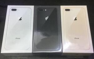 With 1 year warranty Unlocked sealed Apple IPhone 8plus 64gb Grey/Gold/Silver in sealed box!