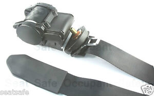 Seat Belt Front Driver Side Holden Commodore VT VX VY VZ - Grey (650-000NGRY)
