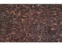 Woodchip bark wood chip