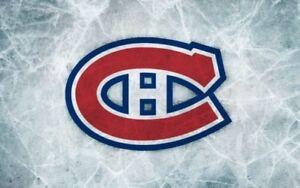 Canadiens tous les matchs billets rouges