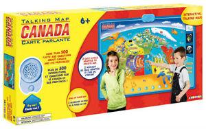Bilingual Interactive talking map of CANADA