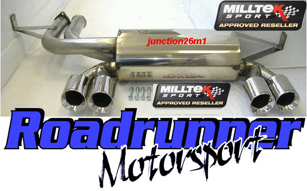 Milltek Rear Silencer M3 E46 Back Box Exhaust Stainless Coupe & Cabrio SSXBM934
