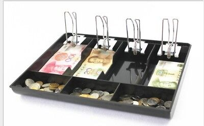 Money Cash Register Till Insert Tray Replacement Coin Cashier Drawer Box