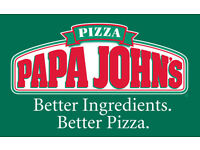 Full Time / Part time Papa John Drivers Required In Reading & Wokingham