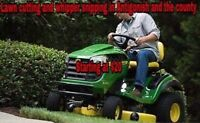 Mowing lawns in Antigonish and the County