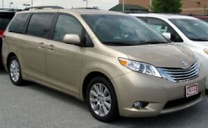 Wanted! 2009 Lexus IS sedan, Toyota Sienna Minivan