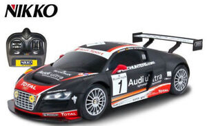 New 1:16  Nikko Audi GT LMS Black remote control car for sell