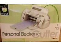 Cricut Personal Electronic Cutter - New/Boxed