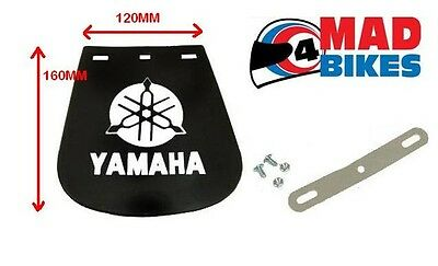 <em>YAMAHA</em> LOGO MOTORCYCLE  MUD FLAP SMALL120MM X 160MM