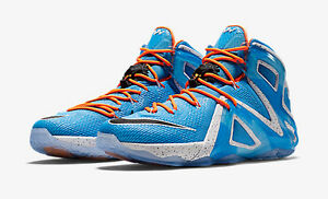Nike Lebron James XII Elite Elevate Blue size 8.5