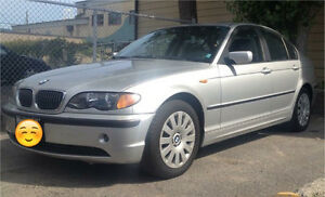 $800 - 2002 Bmw 320i with Winter & Summer tires & rims