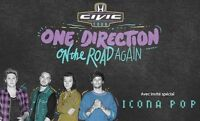 One Direction PARTERRE A3 - Stade Olympique - Sept 5