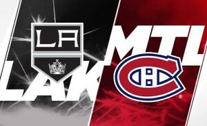 Blanc Central AA Match d'ouverture Canadiens vs Kings