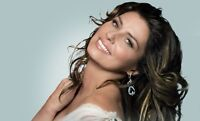 "Shania Twain Oct.11 BestSeats FLOOR LEVEL CENTRE ""CHEAPEST"""