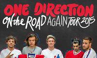 One Direction  Montréal 5 sept 2015    (PARTERRE)
