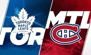 2018 OPENER★Toronto Maple Leafs v Montreal Canadiens WED Oct 3★
