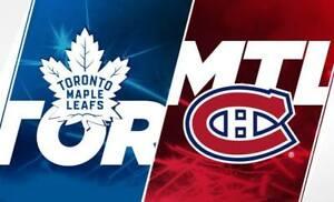 ✯✯  Montreal Canadiens vs. Toronto Maple Leafs ✯✯  MON Sep 23